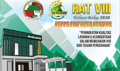 Dinkop dan UKM Provinsi Jawa Tengah hadiri RAT 2021 KSPPS BMT Nusa Kartika